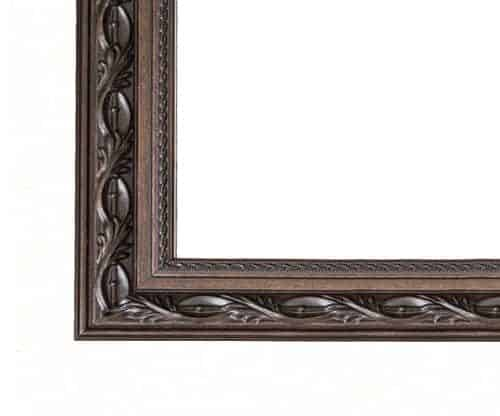 Le Flore Bronze Brown Mirror Frame