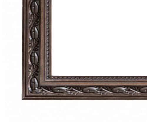 Pre-Cut Frame in Le Flore in Bronze Brown